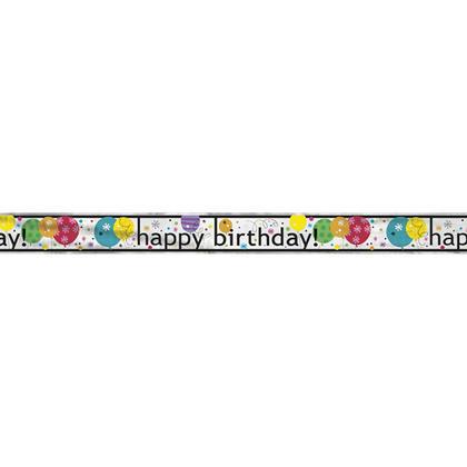 Ballon brise ballon joyeux anniversaire fête décor bannière, 12 pieds Pour la fête d'anniversaire