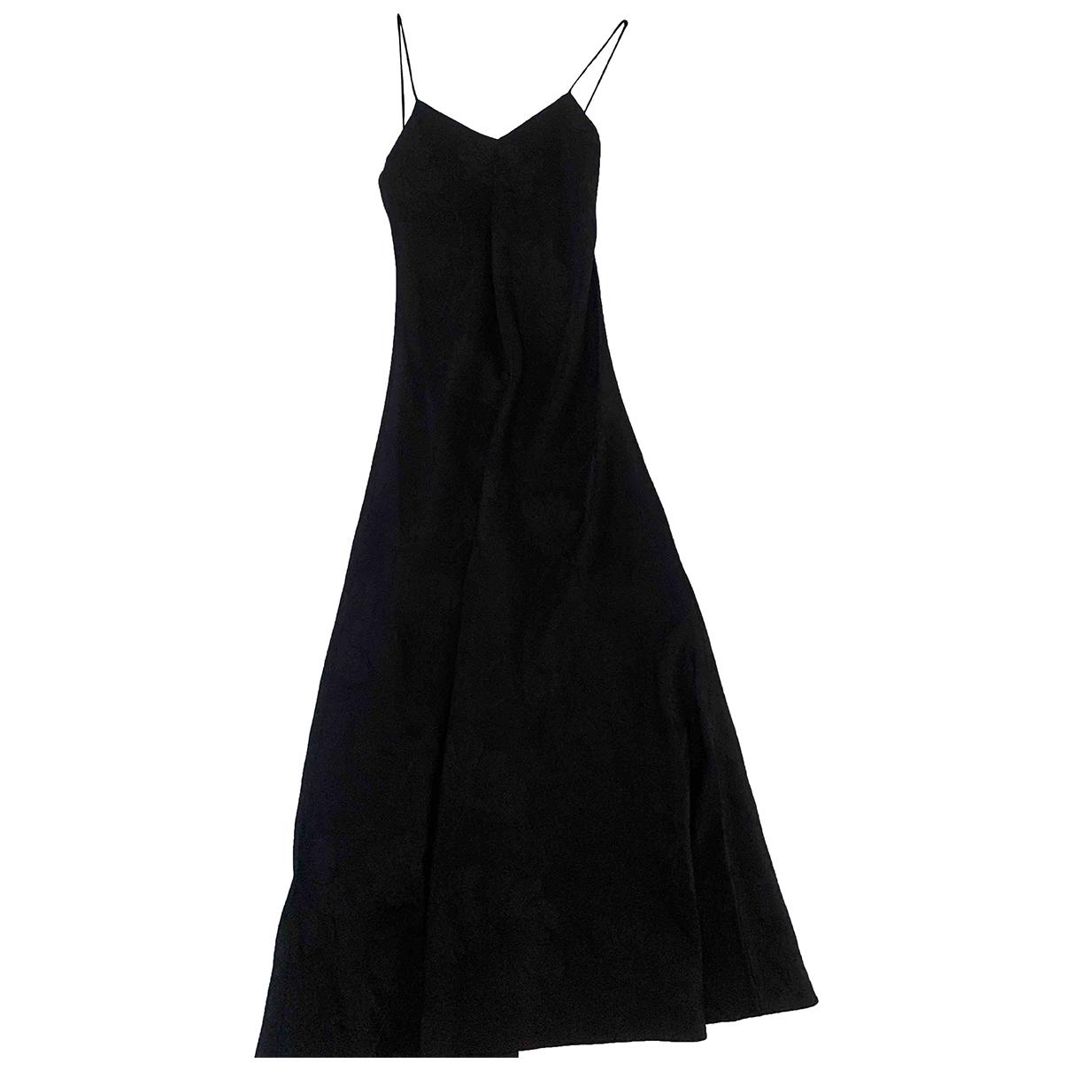 Blaze Milano \N Kleid in  Schwarz Viskose