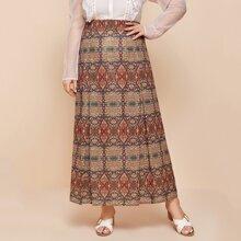 Faldas Extra Grande Cremallera Tribal Bohemio