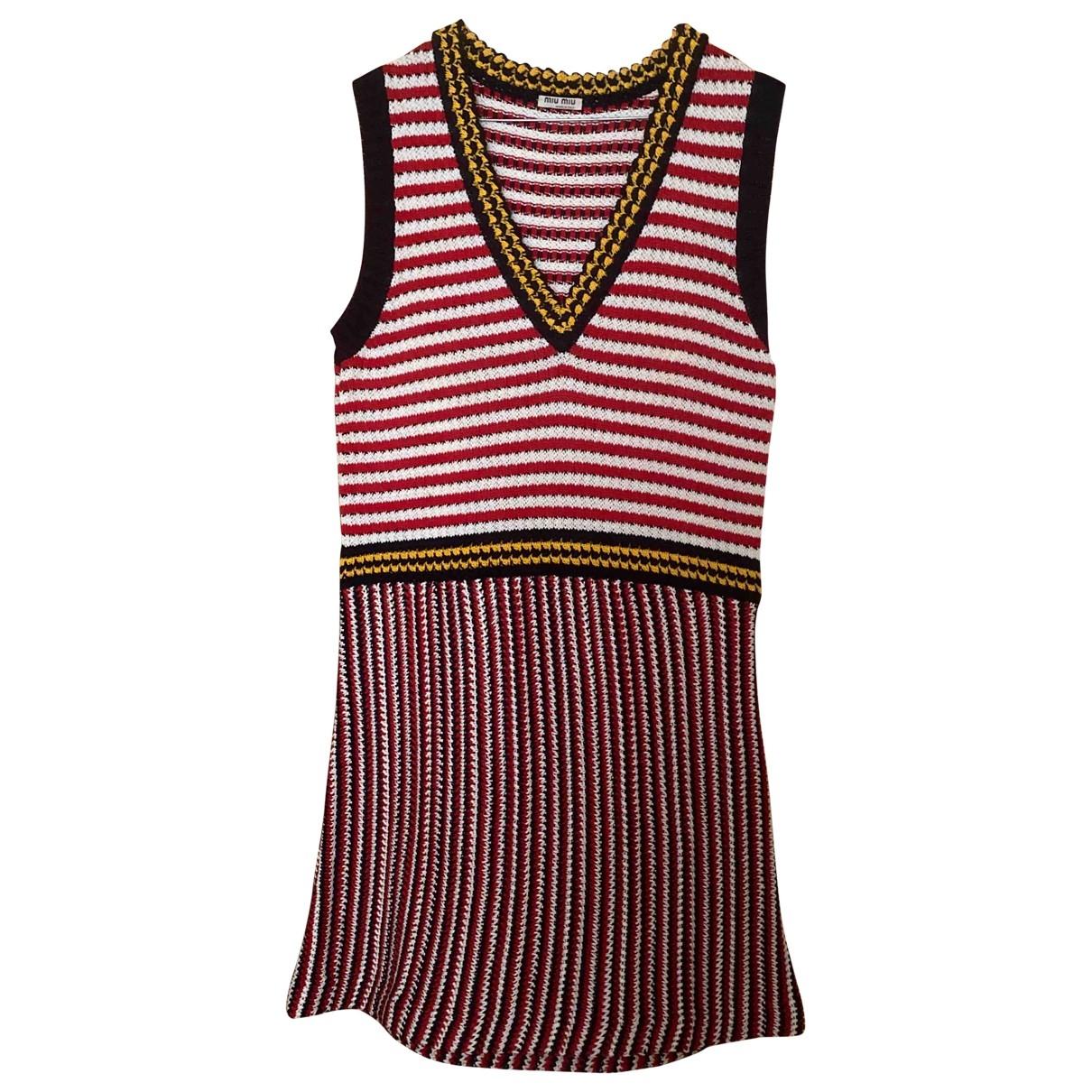 Miu Miu \N Kleid in Baumwolle