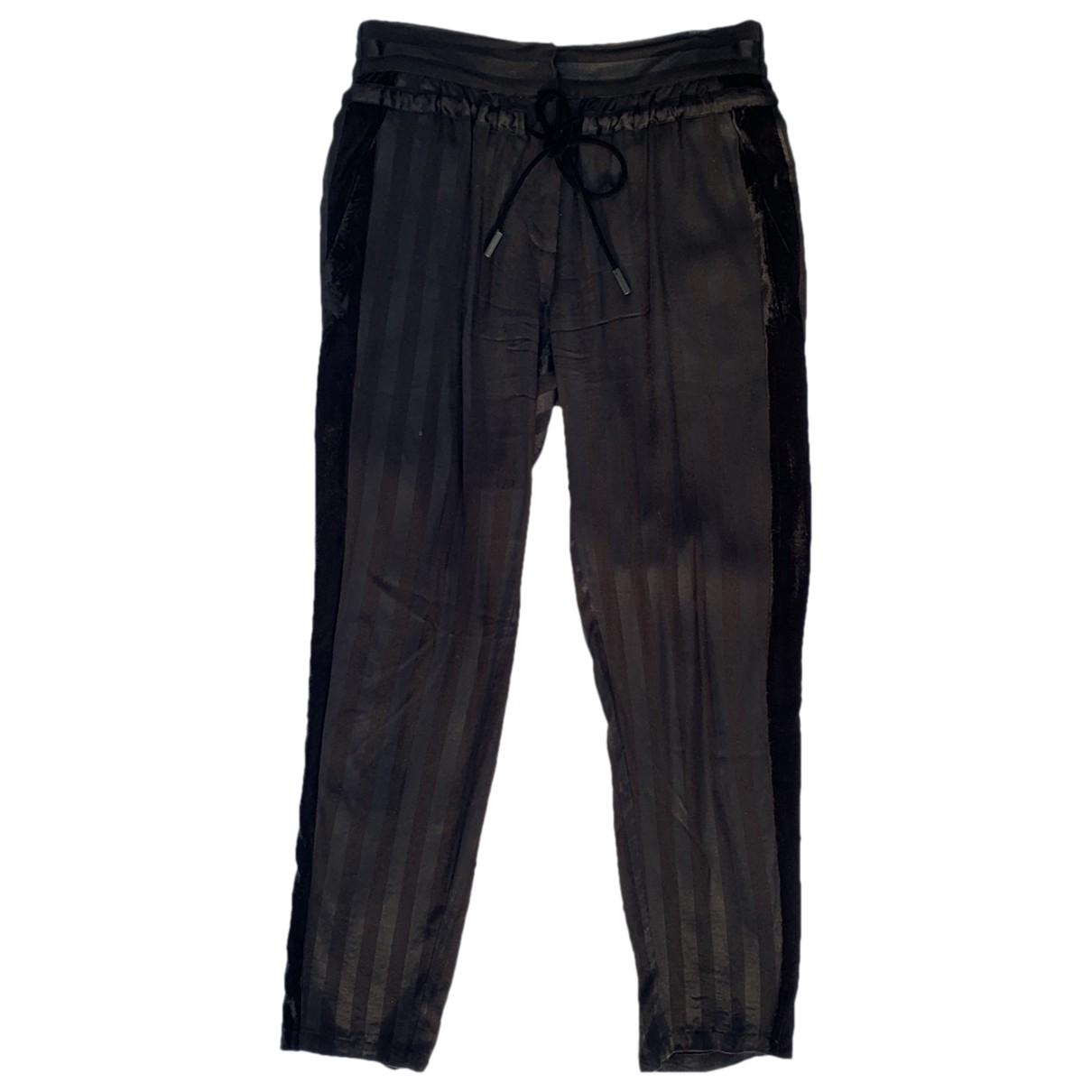 The Kooples \N Black Trousers for Women 38 FR