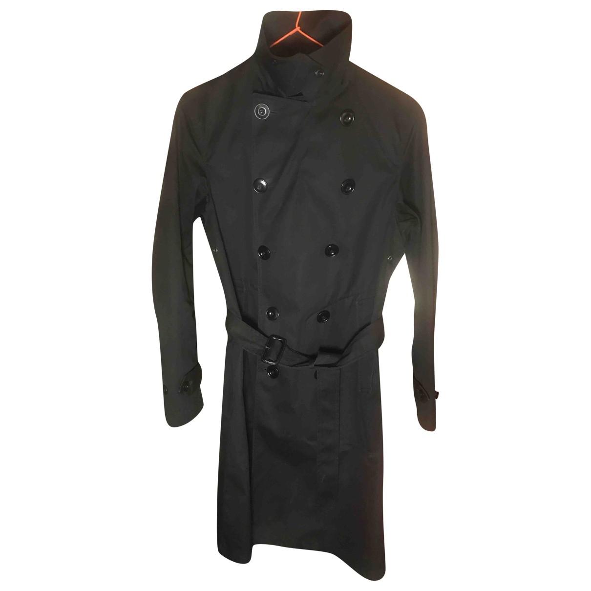 Lemaire X Uniqlo - Manteau   pour homme en coton - noir