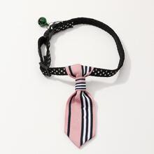 1 Stueck Hund Halsband mit Punkten Muster
