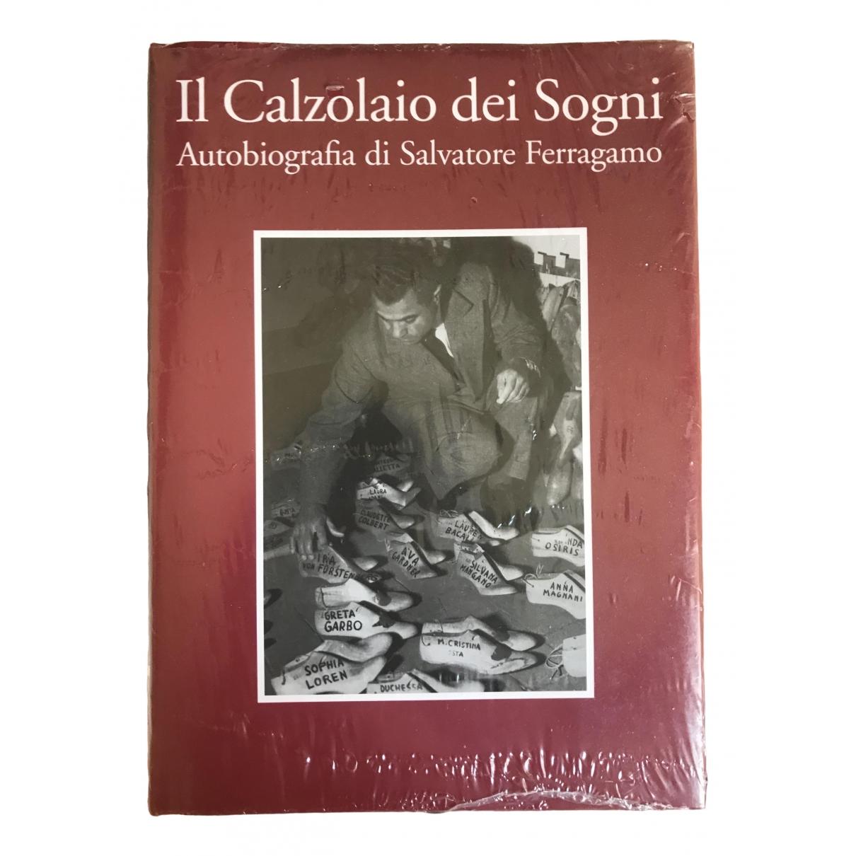 Salvatore Ferragamo - Objets & Deco   pour lifestyle en bois - bordeaux