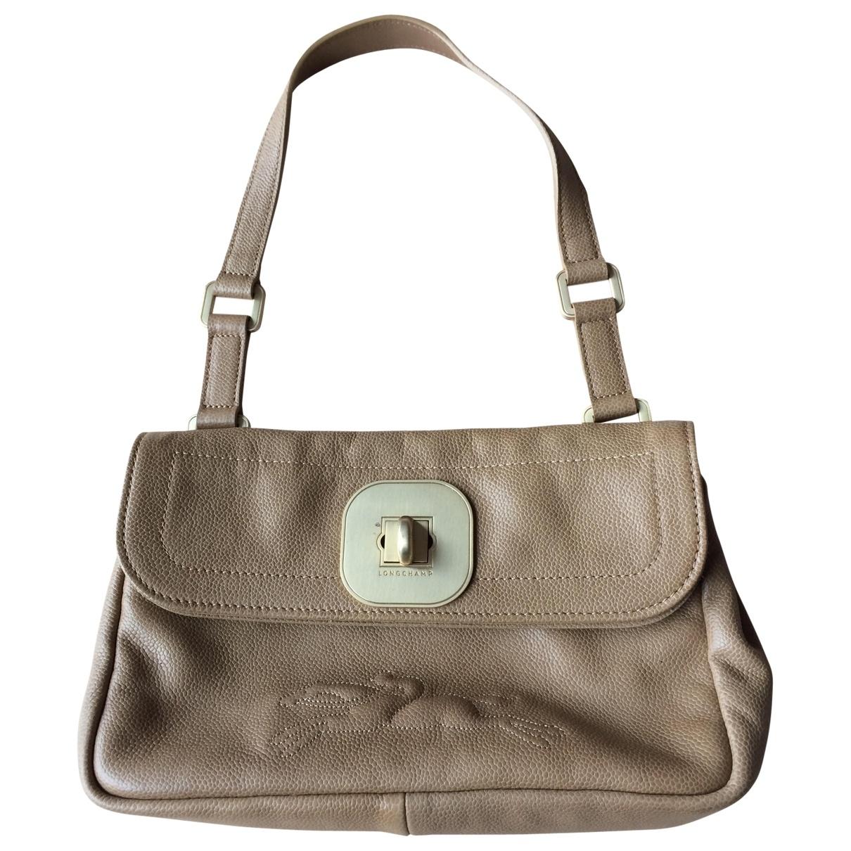 Longchamp Gatsby Camel Leather handbag for Women \N
