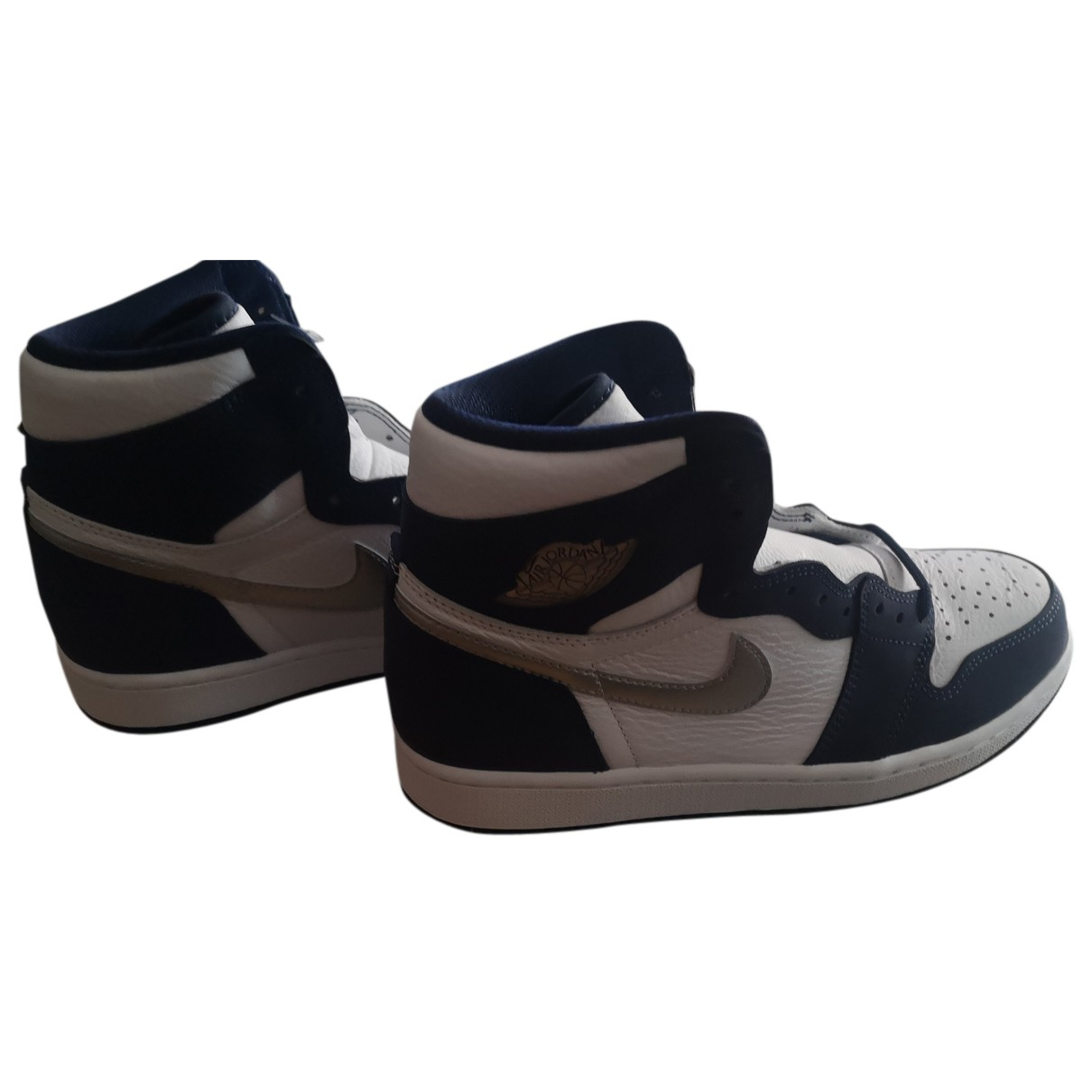 Nike SB Dunk  Sneakers in  Marine Leder