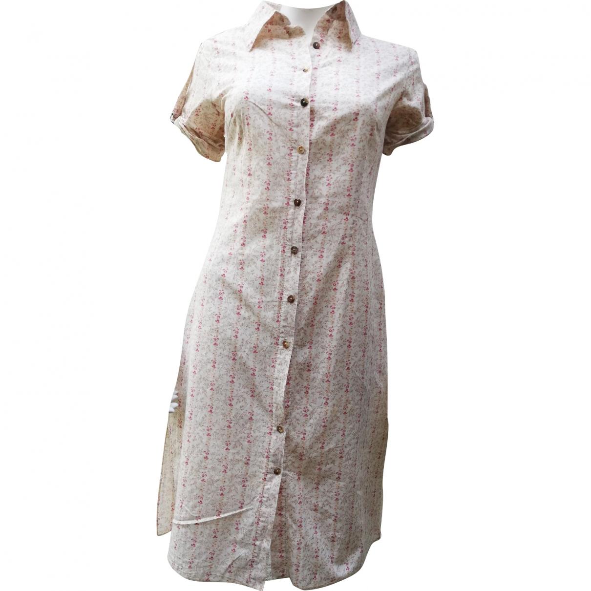 La Petite Francaise \N White Cotton dress for Women S International