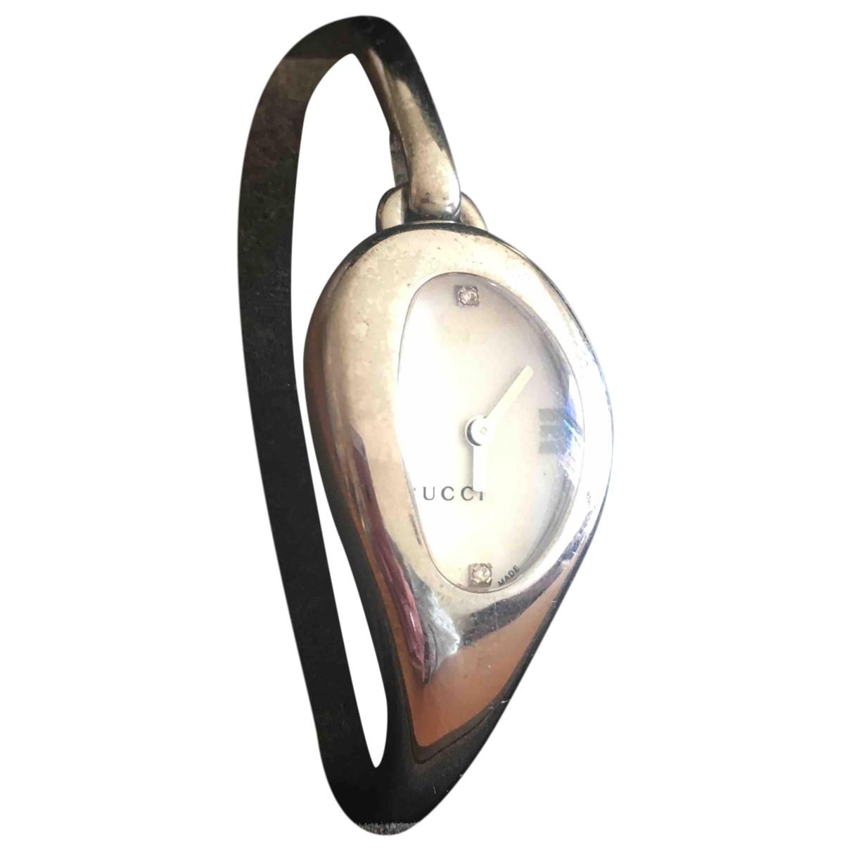 Gucci Horsebit Uhr in  Silber Stahl