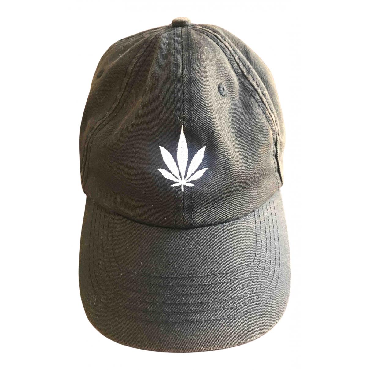 Palm Angels \N Black Cotton hat & pull on hat for Men S International