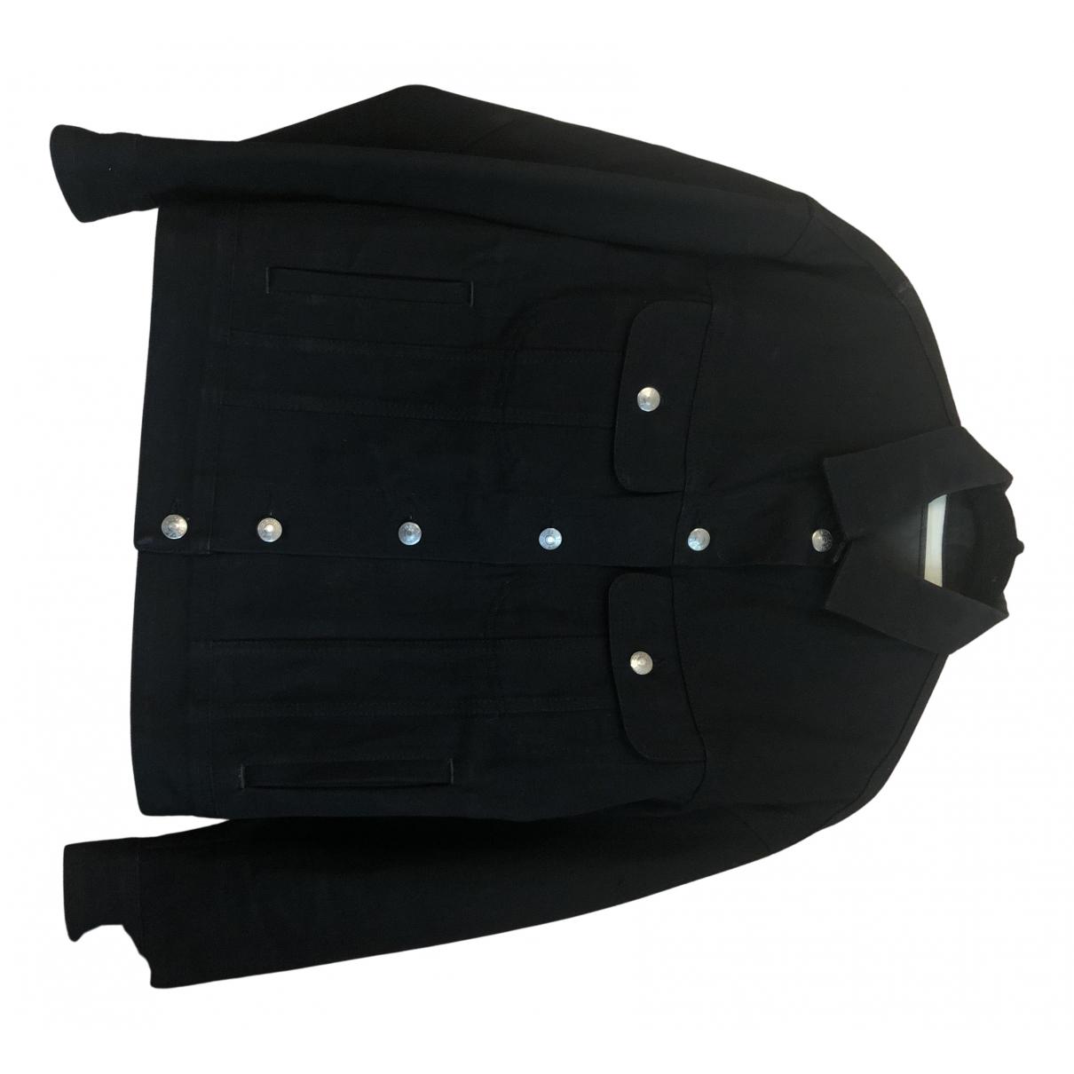Acne Studios Blå Konst Black Denim - Jeans jacket for Women 34 FR