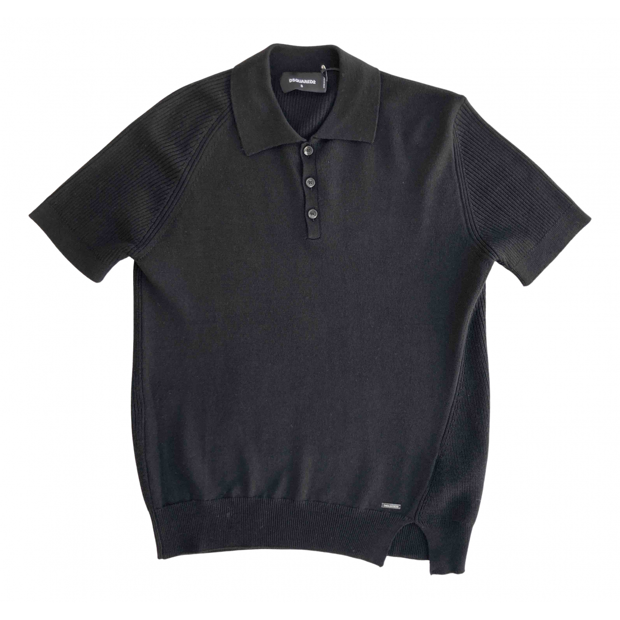 Polo Negro Dsquared2