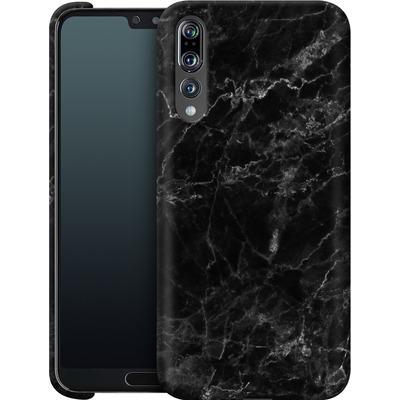 Huawei P20 Pro Smartphone Huelle - Midnight Marble von caseable Designs
