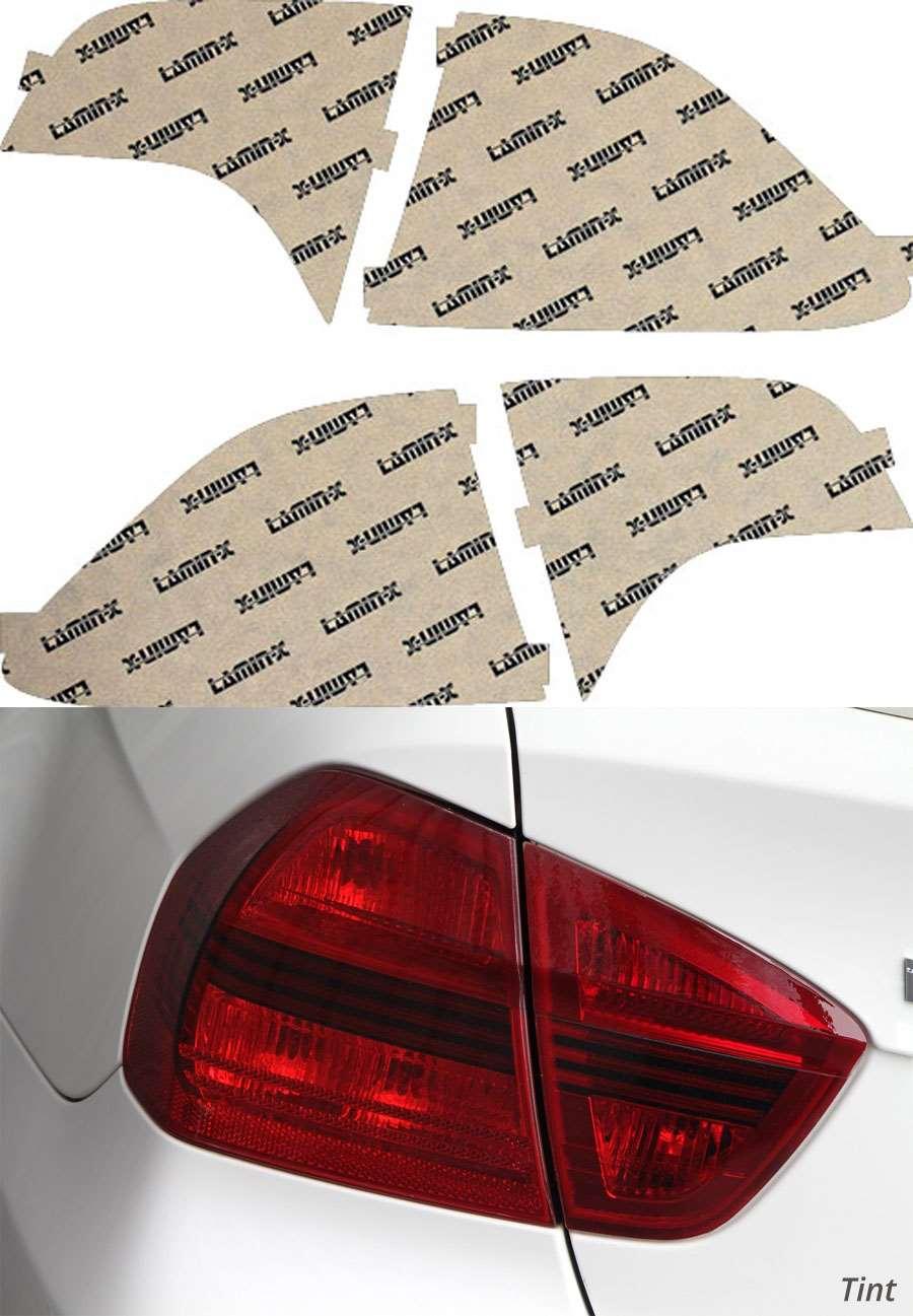 Honda Civic Sedan 06-11 Tint Tail Light Covers Lamin-X H217T