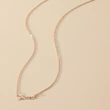 Letter Decor Necklace