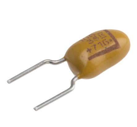 KEMET Tantalum Capacitor 10μF 35V dc MnO2 Solid ±10% Tolerance , T356 (10)