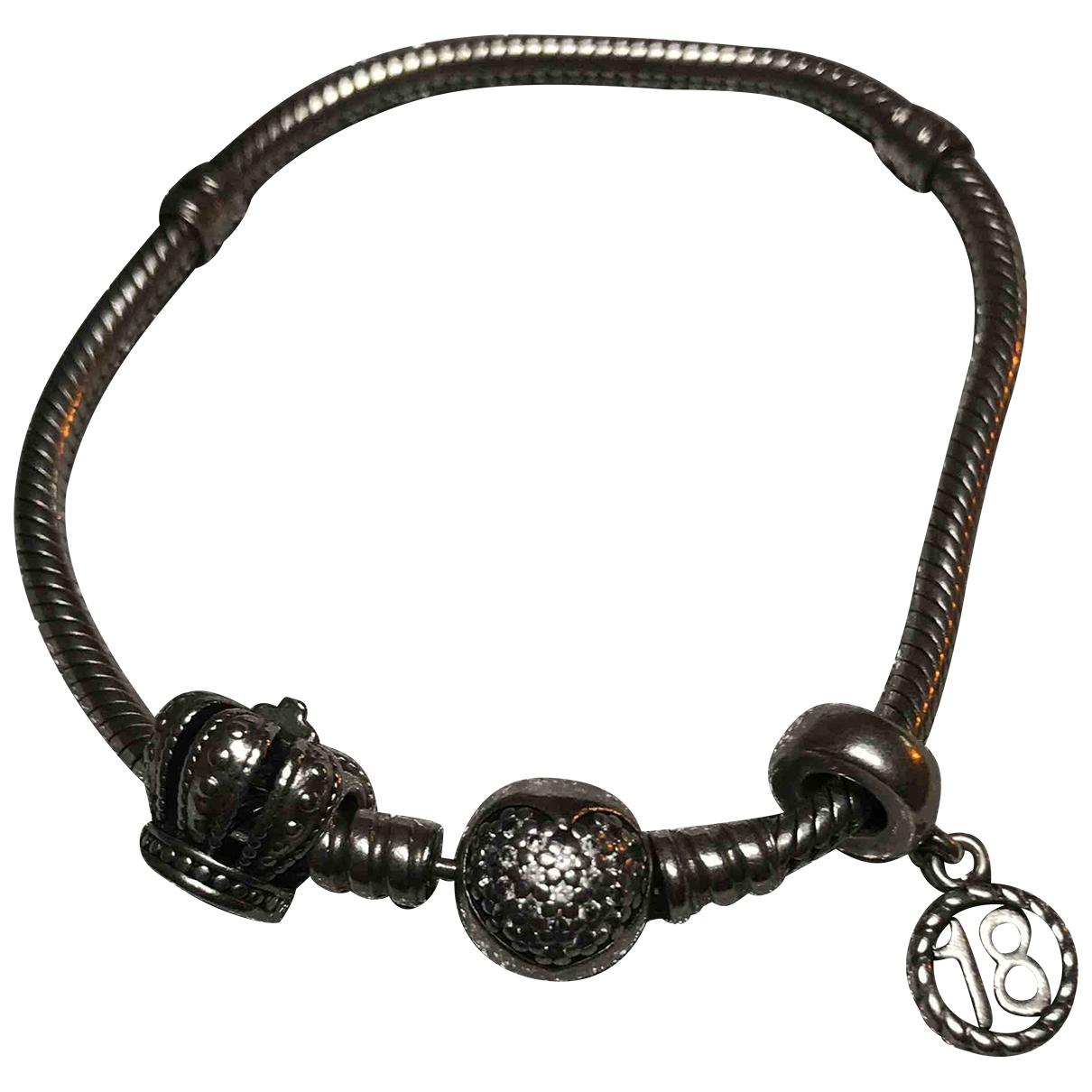 Pandora - Bracelet   pour femme en acier - argente