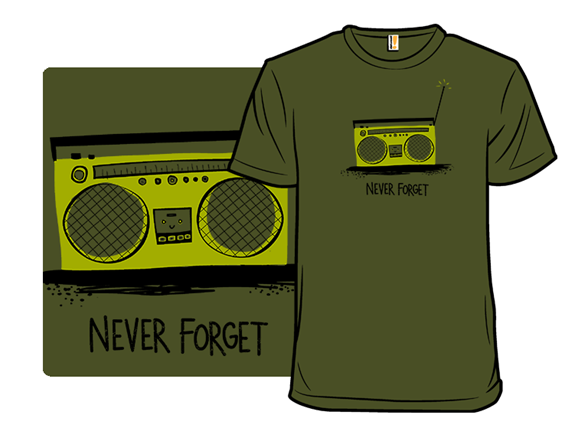 Remember The Boombox T Shirt