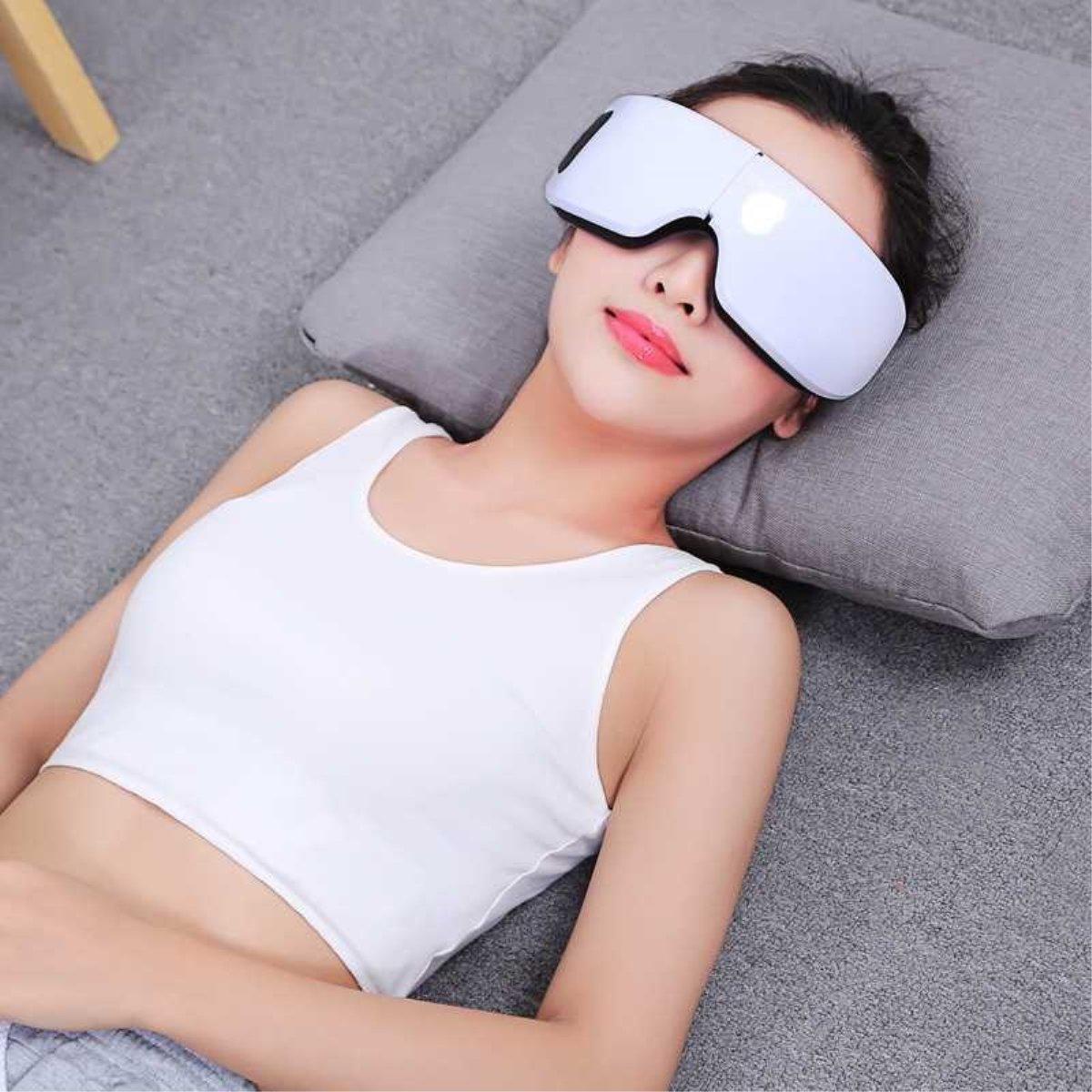 Wireless Digital Eye Massager w/ Heat Compression & Built in Music