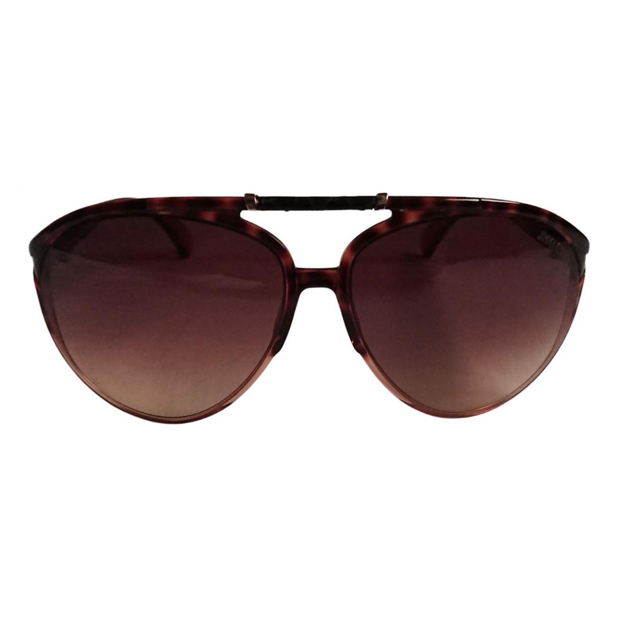 Jimmy Choo N Brown Sunglasses for Women N