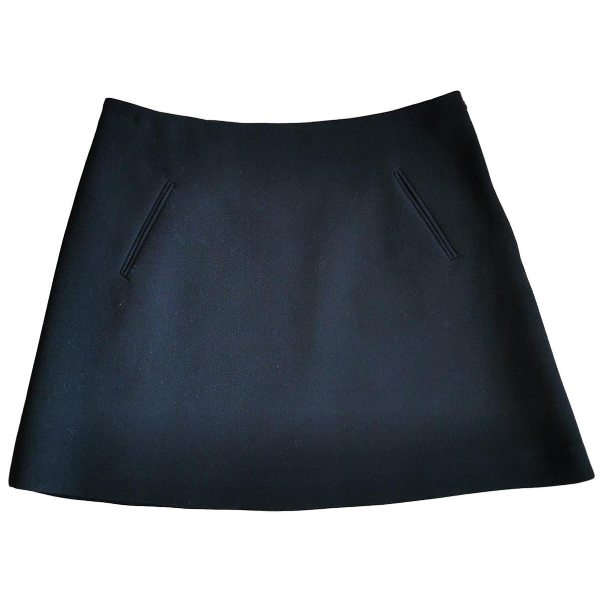 Marni \N Black Wool skirt for Women 44 IT
