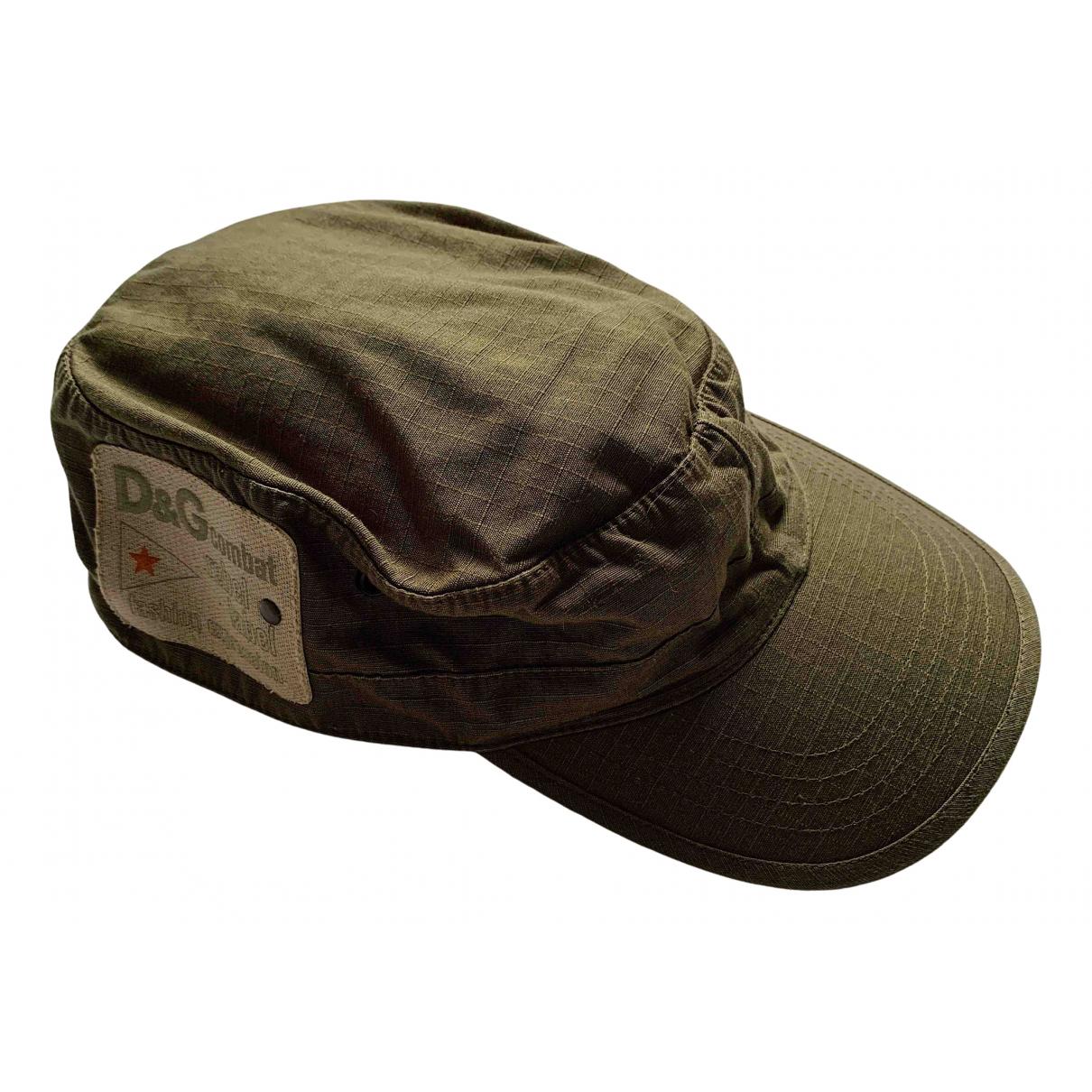 D&g - Chapeau & Bonnets   pour homme en coton - vert
