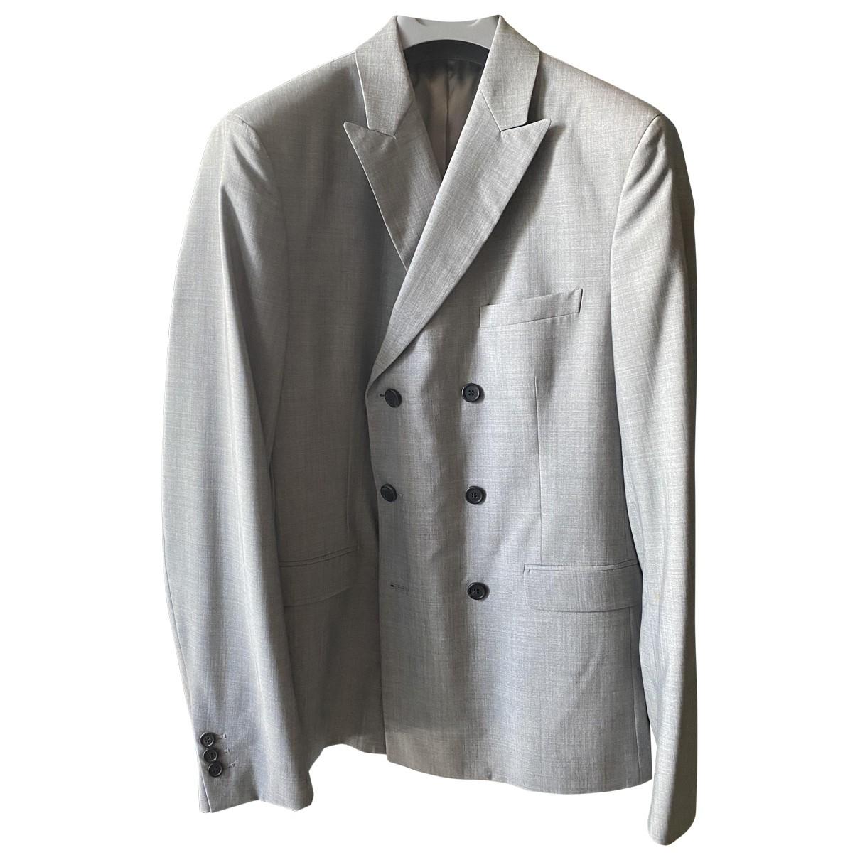Prada \N Grey Wool jacket  for Men 48 IT