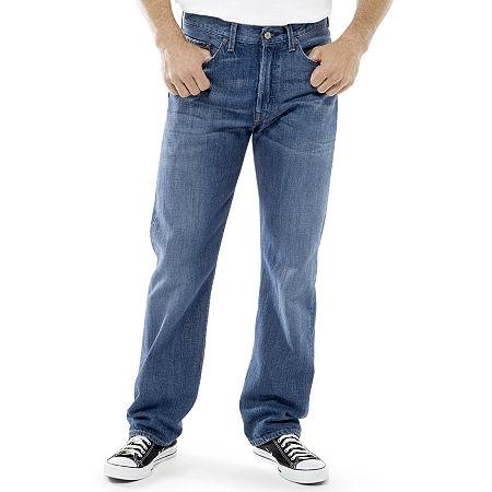 Levi's 505 Regular Fit Jeans-Big & Tall, 46 29, Blue