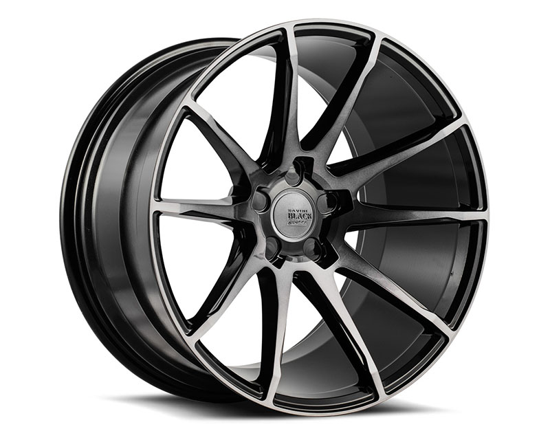 Savini BM12-19085520D4579 di Forza Gloss Black with Double Dark Tint BM12 Wheel 19x8.5 5x120 45mm