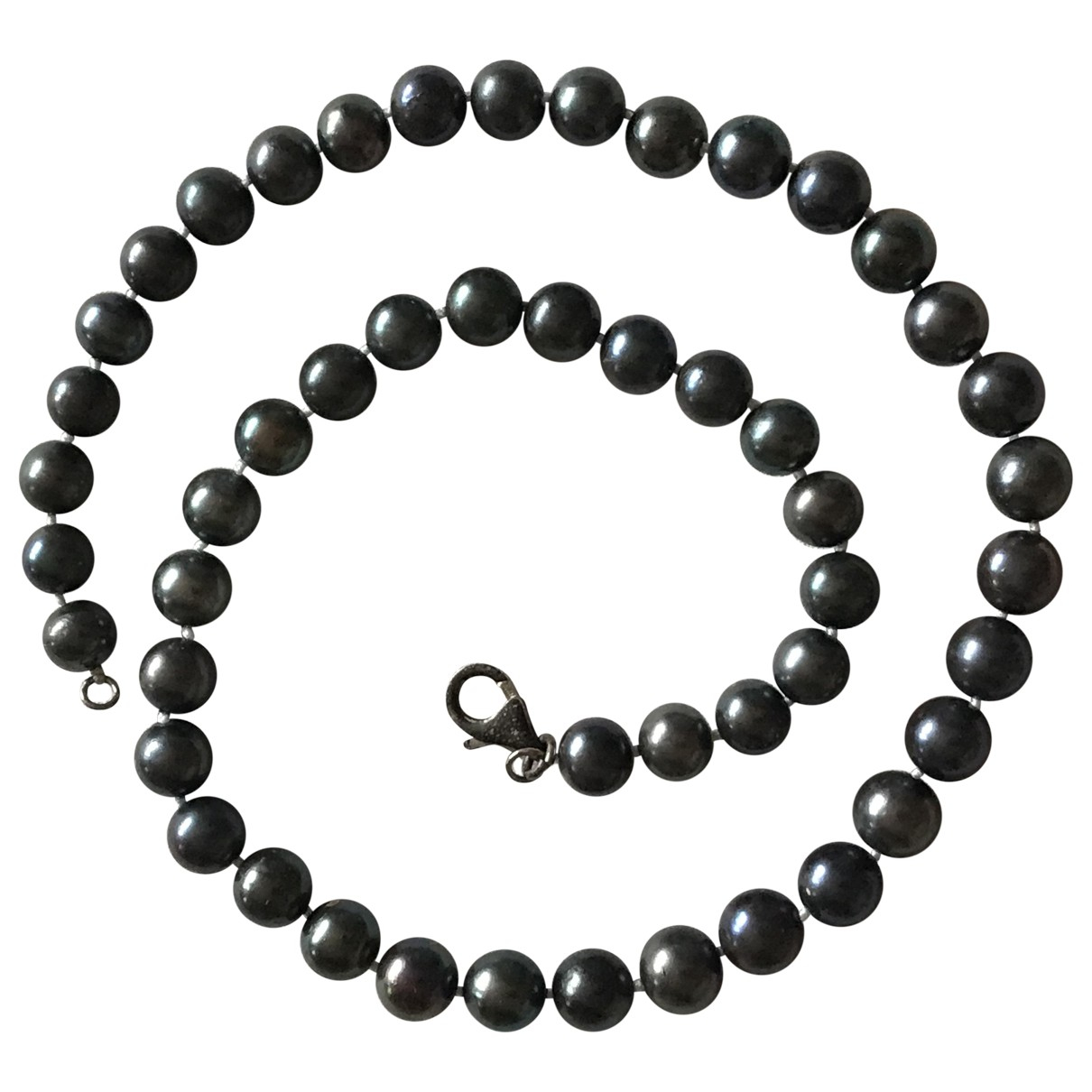 Non Signé / Unsigned \N Pearl necklace for Women \N