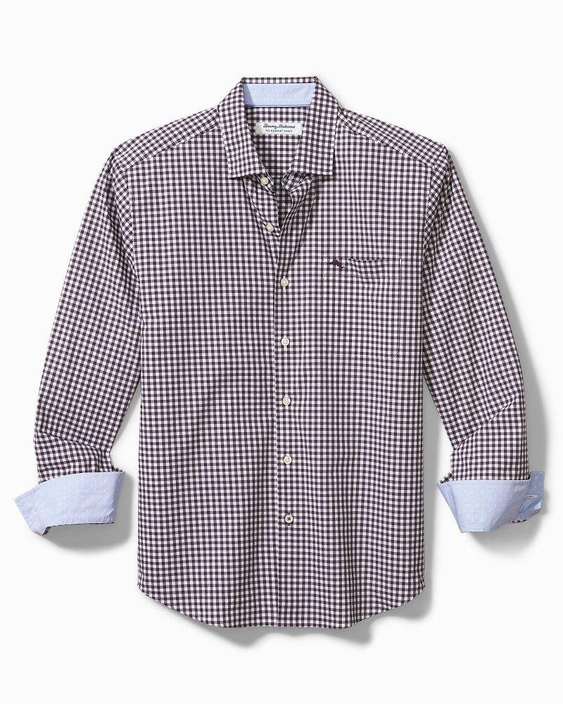 Big & Tall Newport Grazie Gingham IslandZone® Shirt