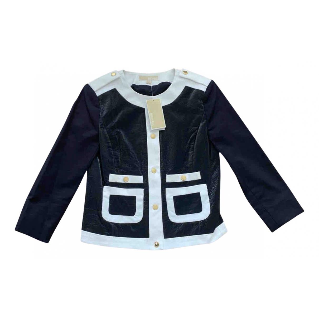 Michael Kors N Navy Cotton jacket for Women XS International