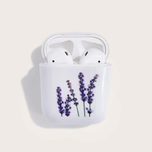 Flower Print Airpods Case