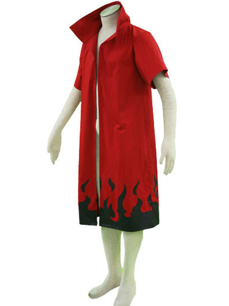 Milanoo Naruto Main Theme 65% Cotton 35% Polyester Cloak Cosplay Costume Halloween