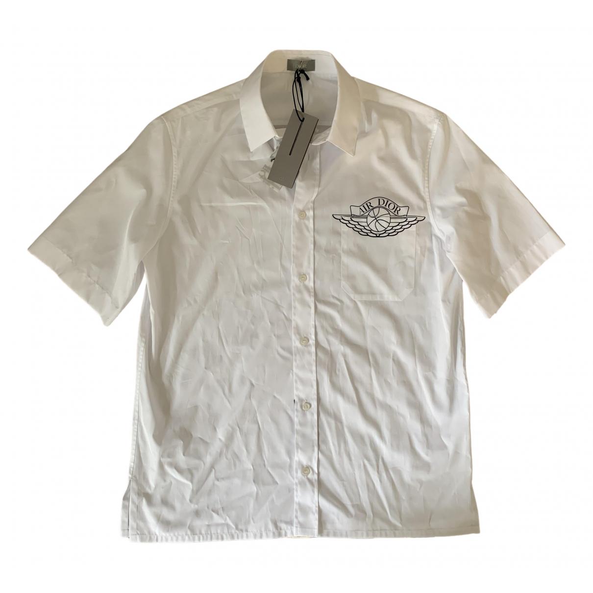 Jordan X Dior \N Hemden in  Weiss Baumwolle