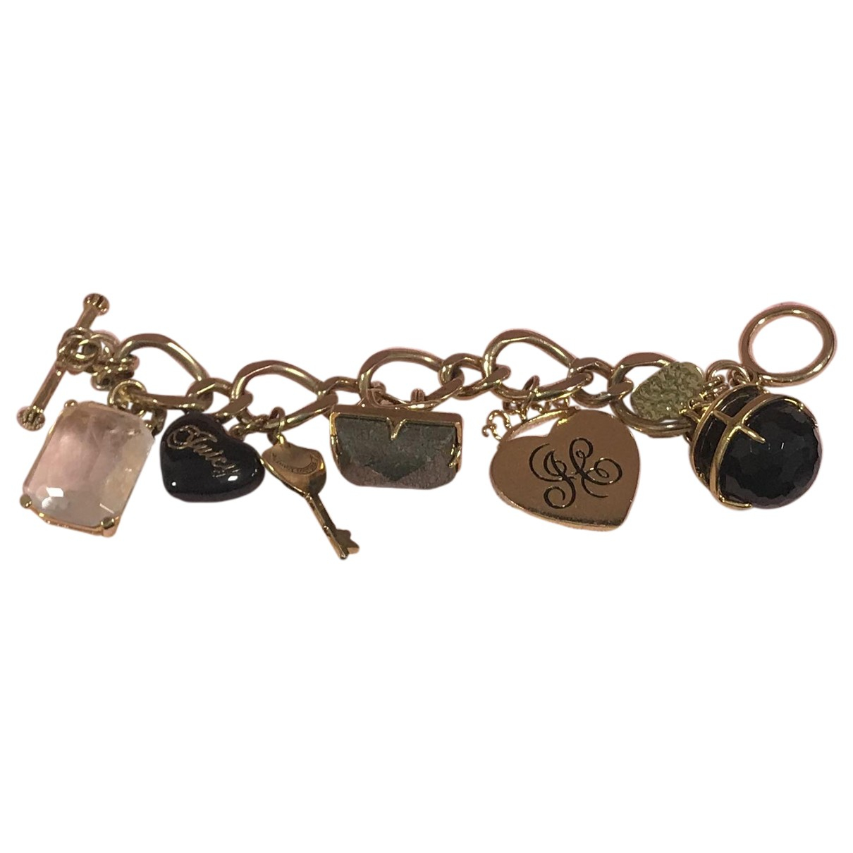 Juicy Couture \N Armband in  Gold Stahl