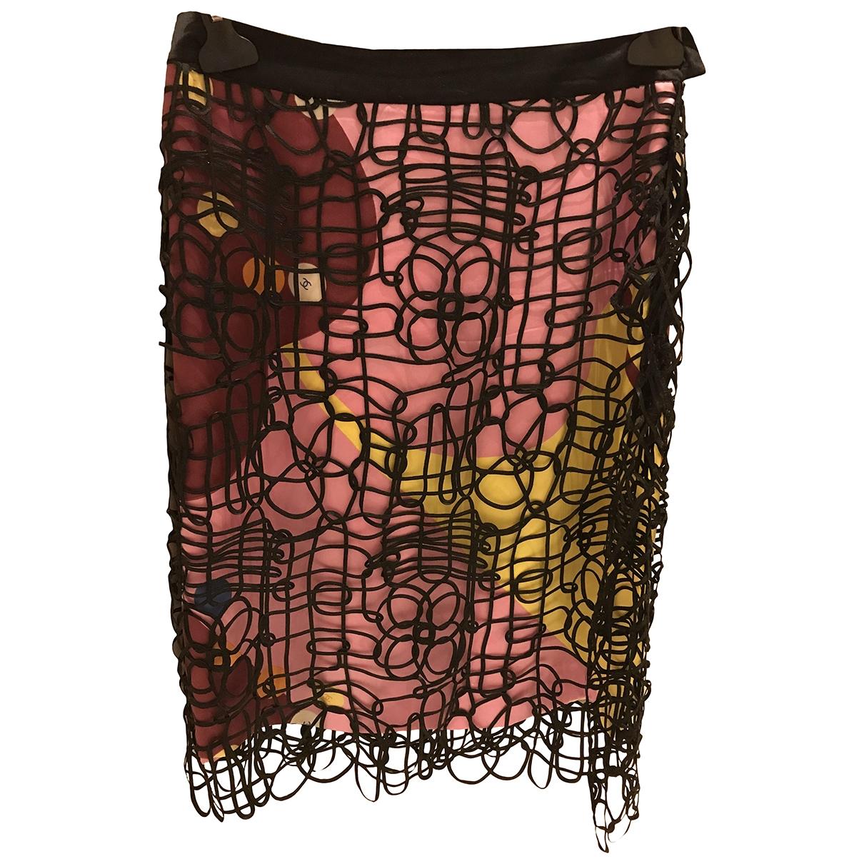Chanel \N Multicolour Silk skirt for Women 40 FR