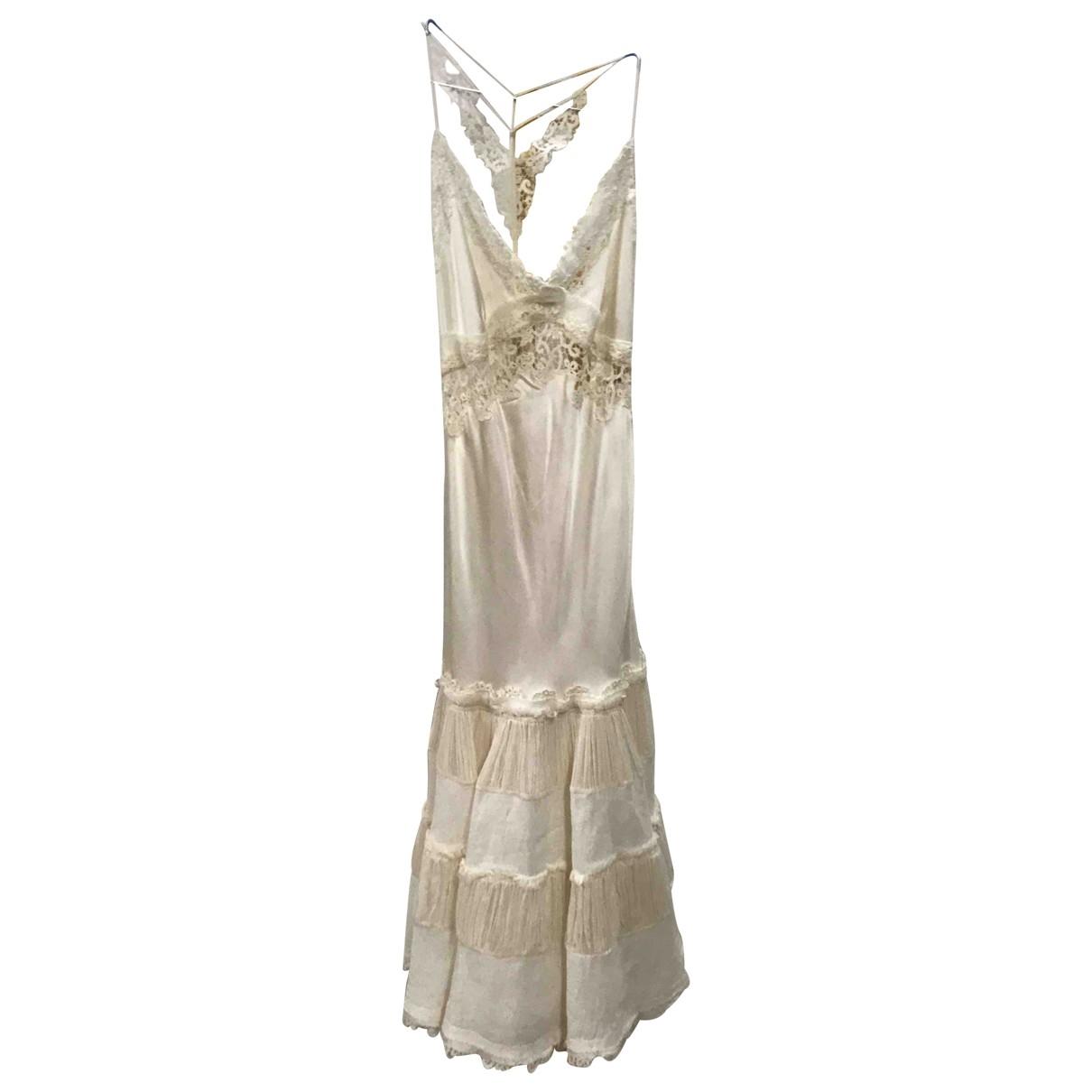 Ermanno Scervino \N Kleid in Seide