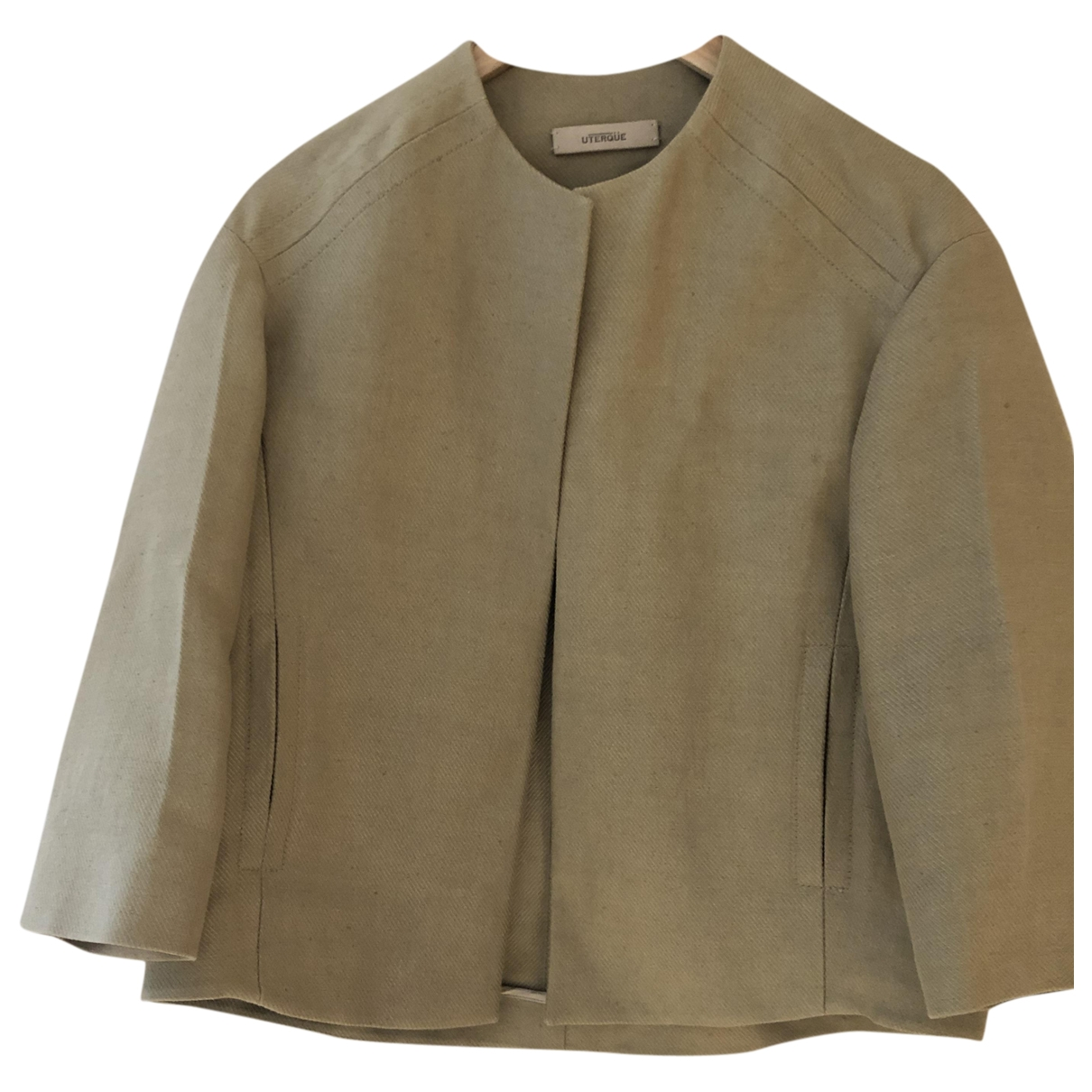 Uterque \N Camel Linen jacket for Women S International