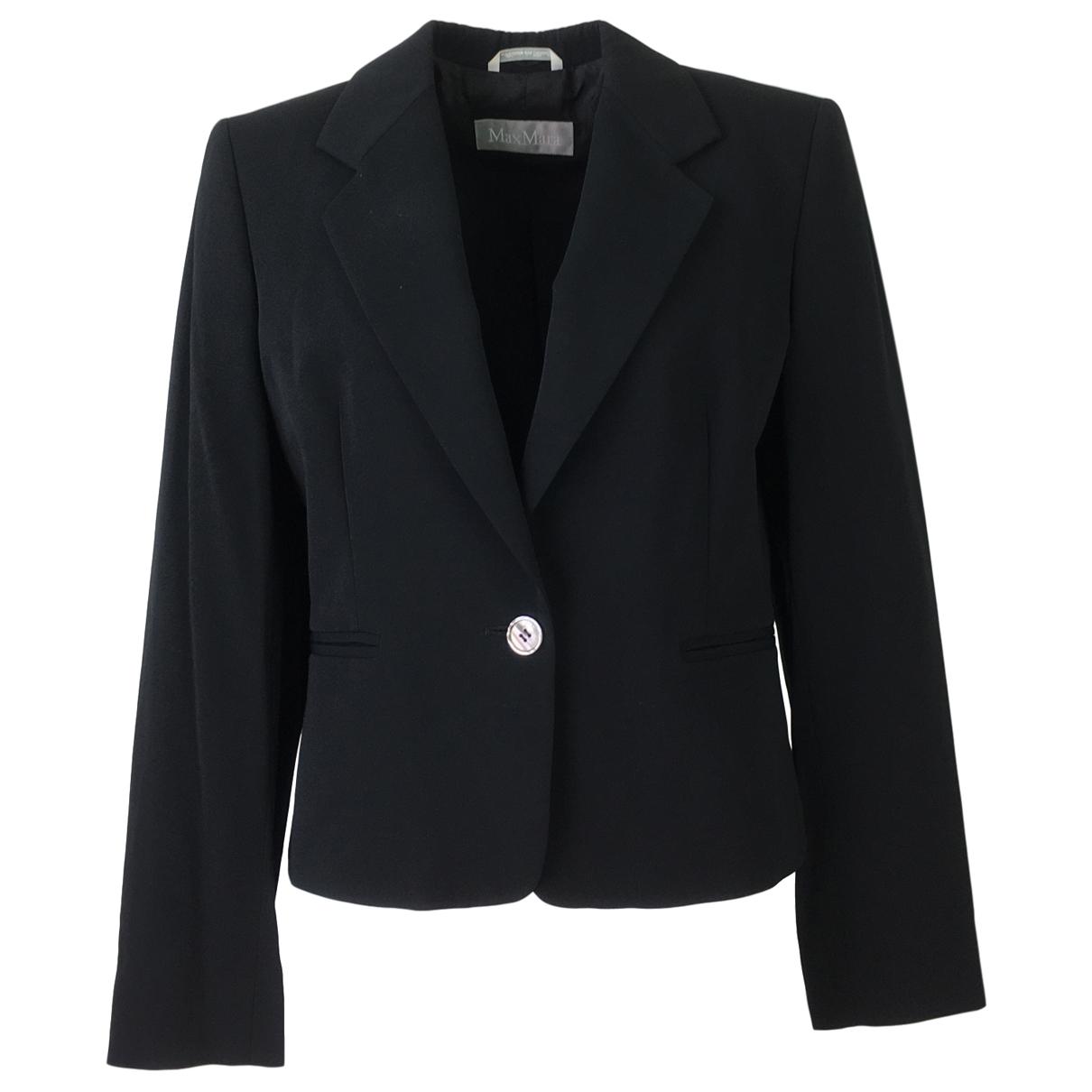 Max Mara \N Black jacket for Women 48 IT