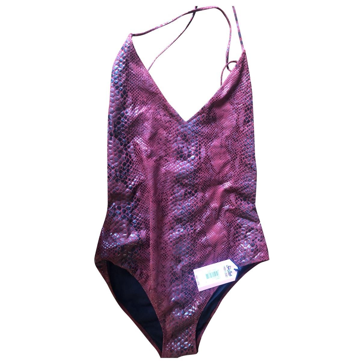Mc2 Saint Barth \N Burgundy Lycra Swimwear for Women 38 - 40 IT