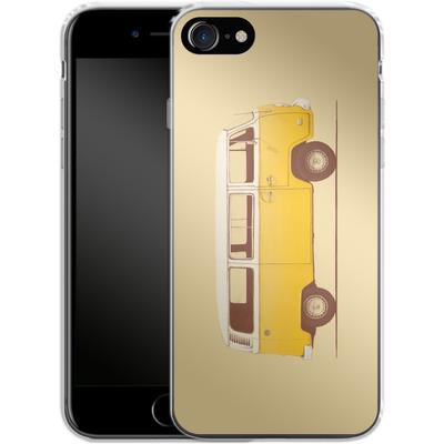 Apple iPhone 7 Silikon Handyhuelle - Yellow Van von Florent Bodart
