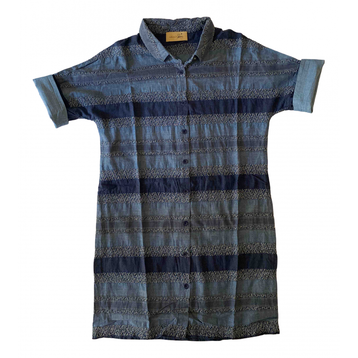 Sessun \N Blue Cotton dress for Women M International