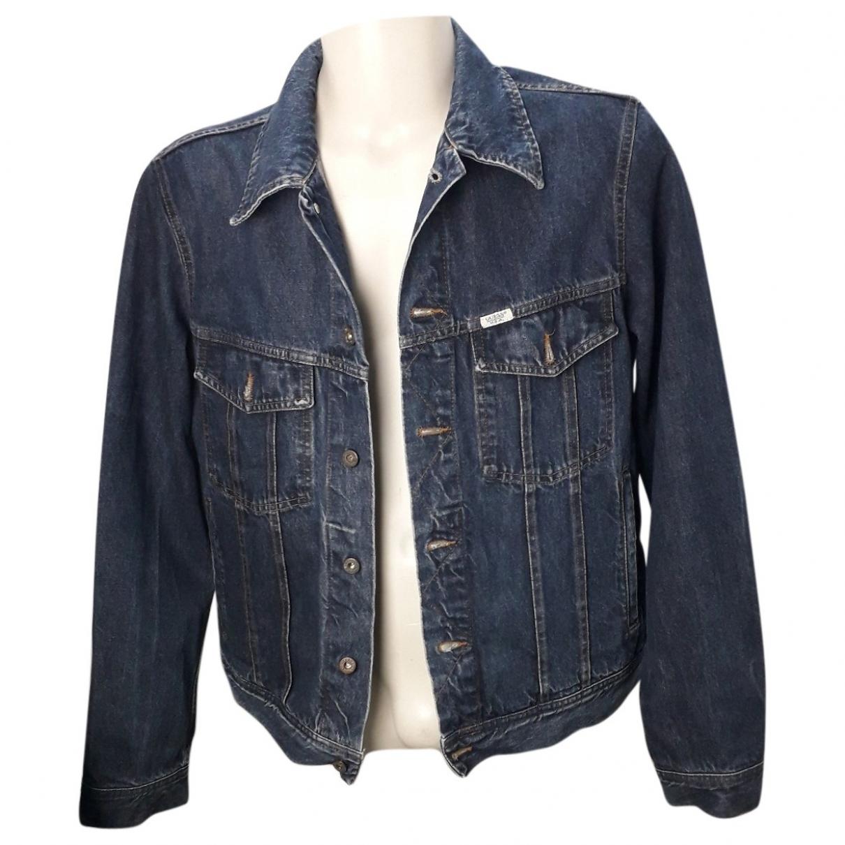 Guess \N Jacke in  Blau Denim - Jeans