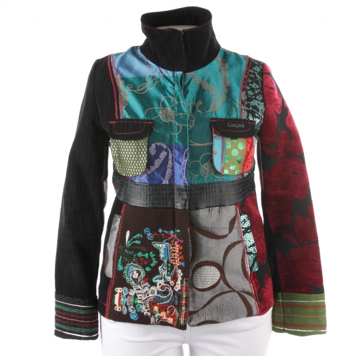 Dsquared2 - Veste   pour femme en coton - multicolore