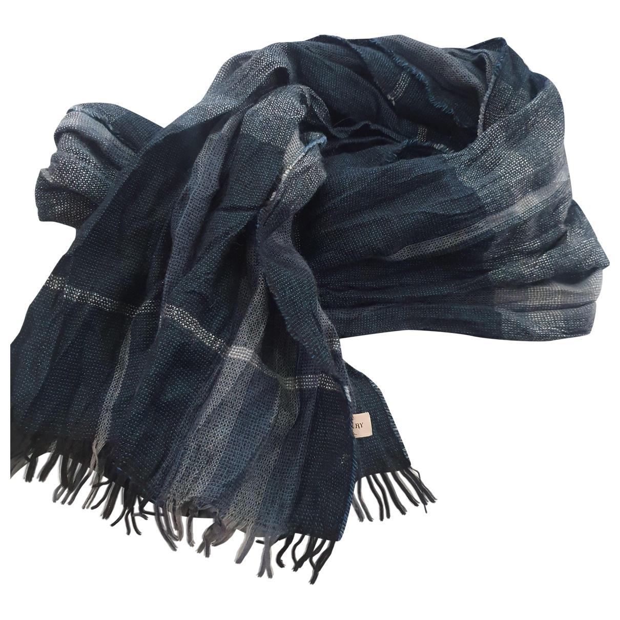 Burberry \N Schal in  Blau Wolle