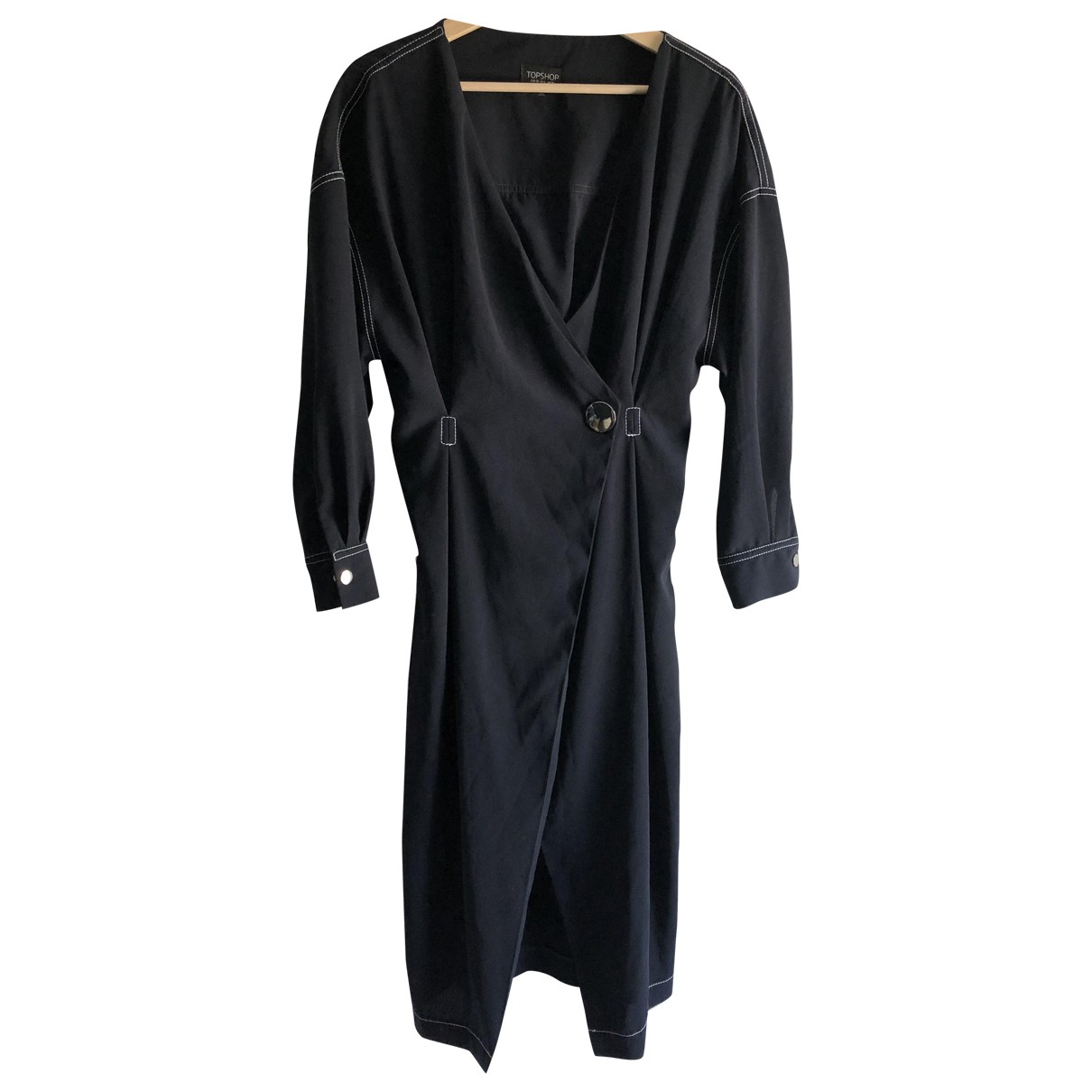 Tophop Boutique \N Kleid in  Marine Synthetik