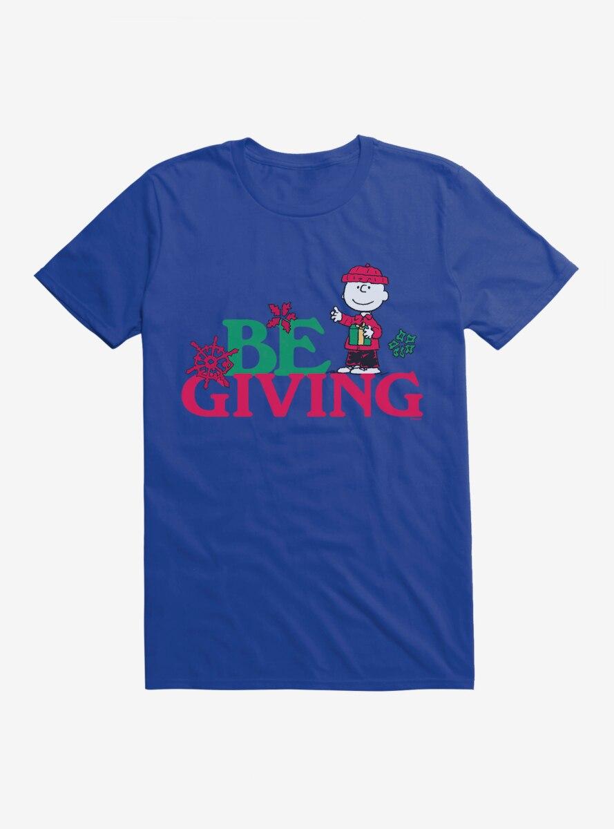 Peanuts Christmas Charlie Be Giving T-Shirt