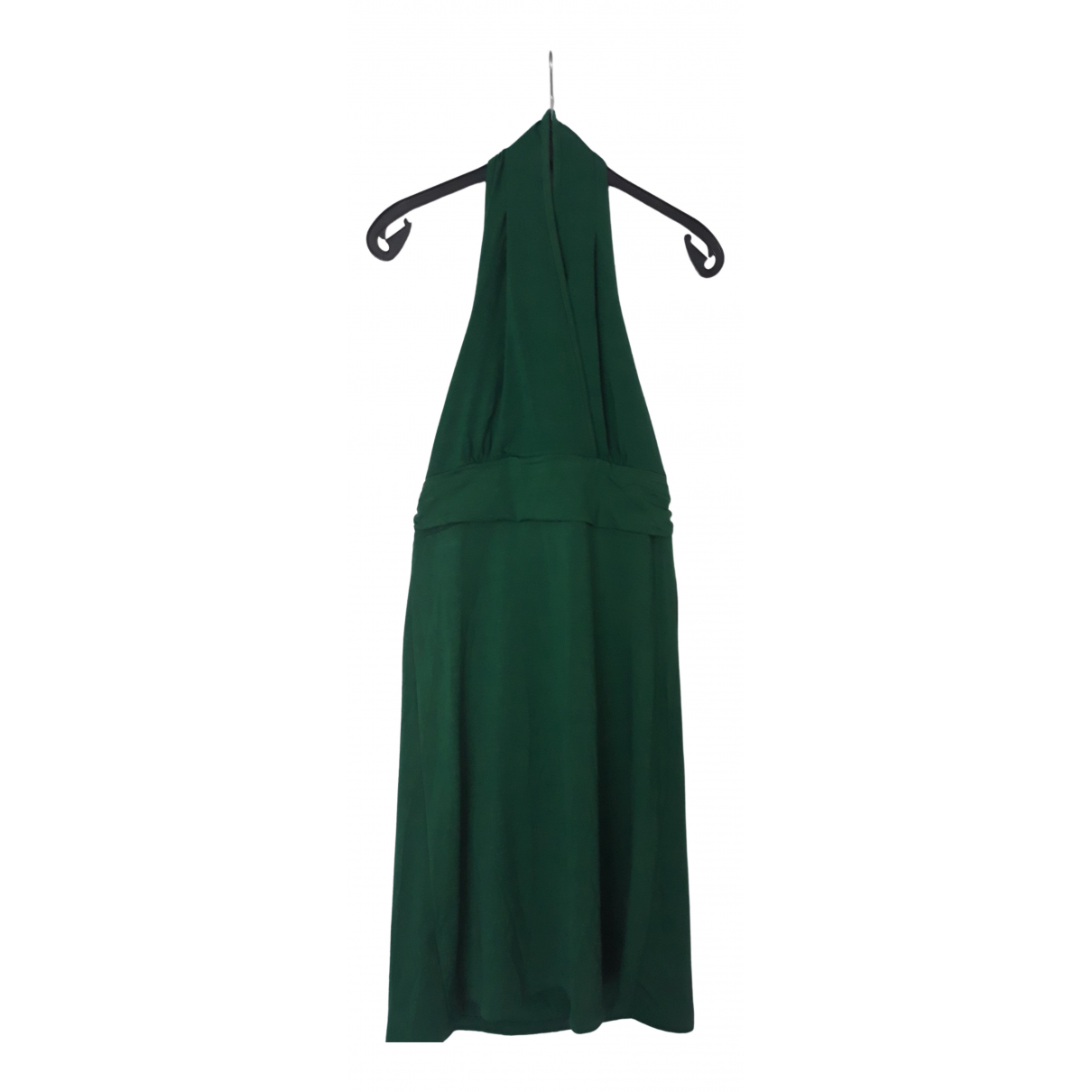 Non Signé / Unsigned \N Green Cotton - elasthane dress for Women M International