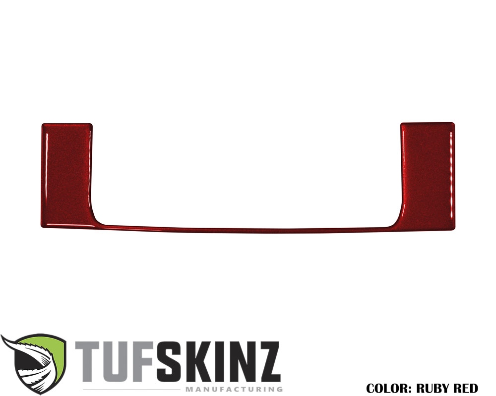 Tufskinz RUN010-SNR-G Above Center Air Vent Accent Trim Fits 14-up Toyota 4Runner 1 Piece Kit in Ruby Red Similar to Barcelona Red