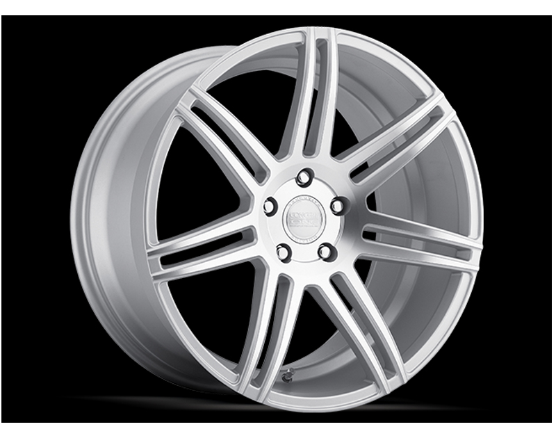 Concept One C1018 20105 27 55 MSF CSM7 Matte Silver Wheel 20x10.5 5x114.3 27mm